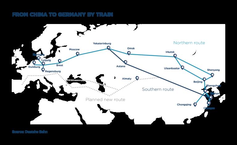Logistica, Trasporti, E-commerce, Cina